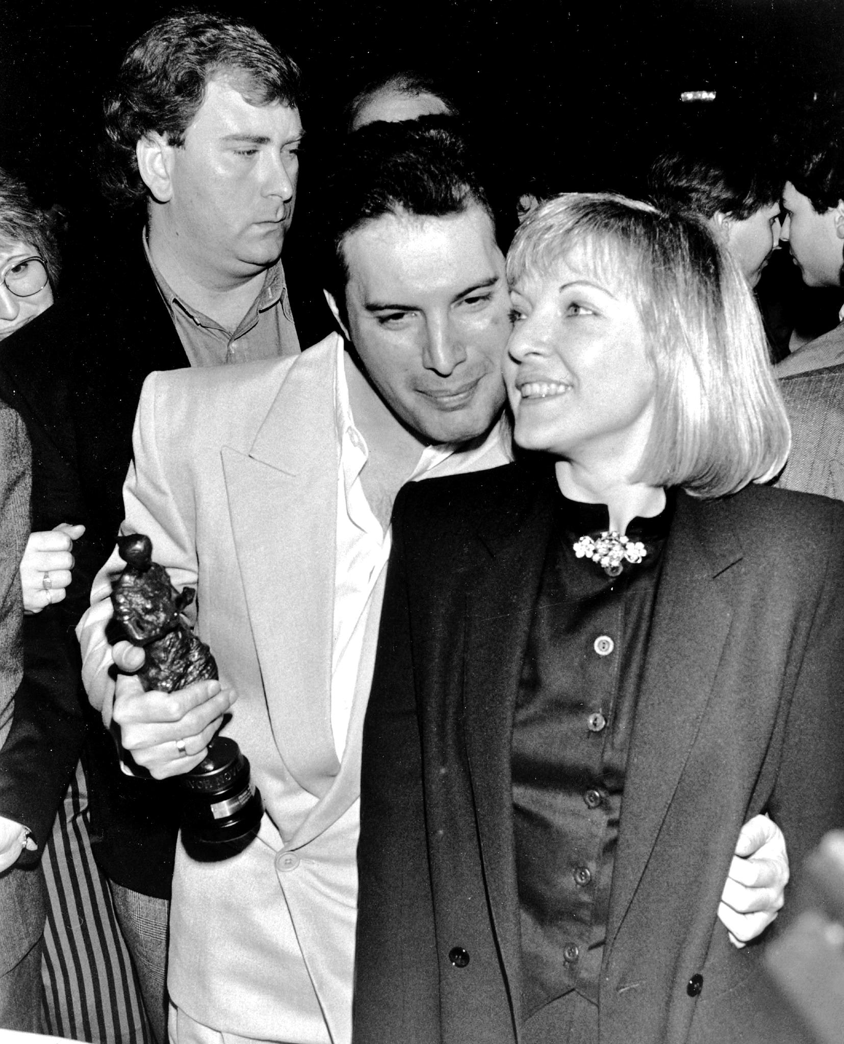 Anita 3d Name Wallpaper Freddie And Mary Ivor Novello Awards 1987 4 Queen Photos