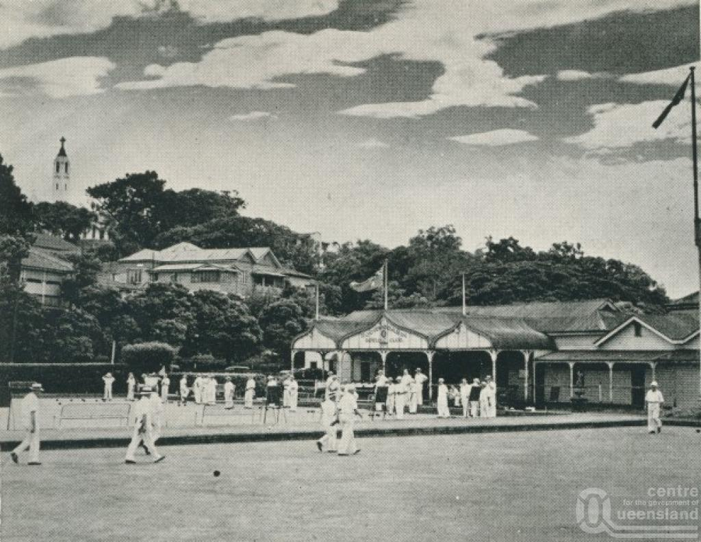 Bowls Qld Newstead Queensland Places