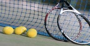 Tenis exhibition Corona