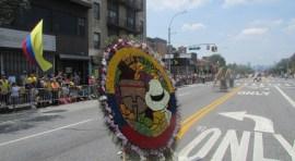 Desfile de Silleteros en la Northern Boulevard