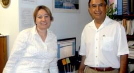 Rodolfo Flores y Fena Angel los une su amor por la comunidad