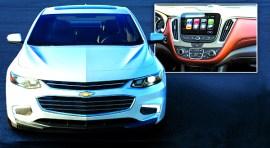Nuevo Chevrolet Malibu rueda por la puerta ancha