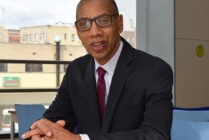 Dennis  M. Walcott, President and CEO, Queens Library. Photo courtesy