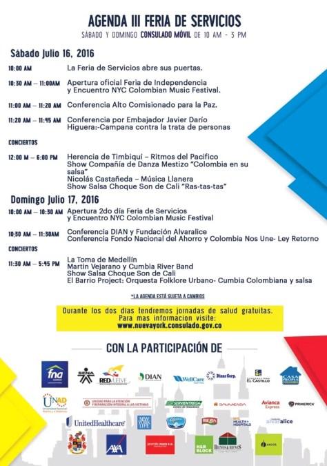Encuentro de Independencia para colombianos del área triestatal el 16 y 17 de julio en LaGuarida