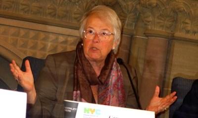 Canciller de Educación de NuevaYork, Carmen Fariña. Foto Javier Castaño