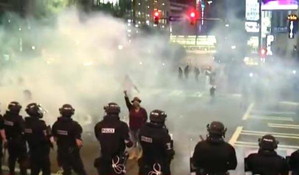 En Charlotte no paran las protestas