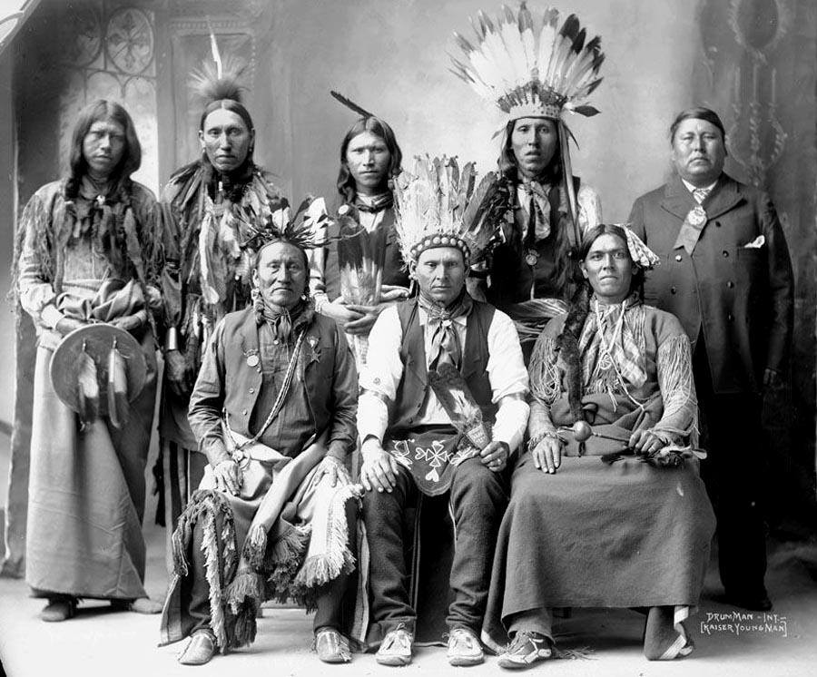 Los indígenas americanos trataron de preservar su cultura ante la invasión europea.