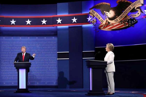 Debate Trump y Clinton: más de lo mismo