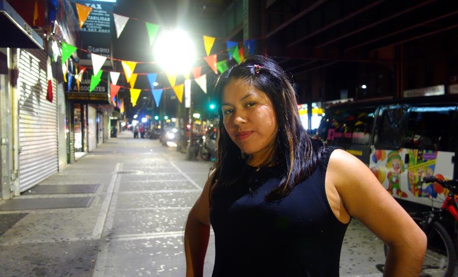 Martha Laura Ramos espera que Dios le ablande el corazón a Trump.