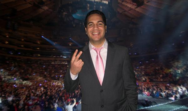 Andrés Salce: Productor de grandes conciertos