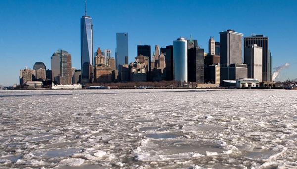 Ola de frío llega a Nueva York