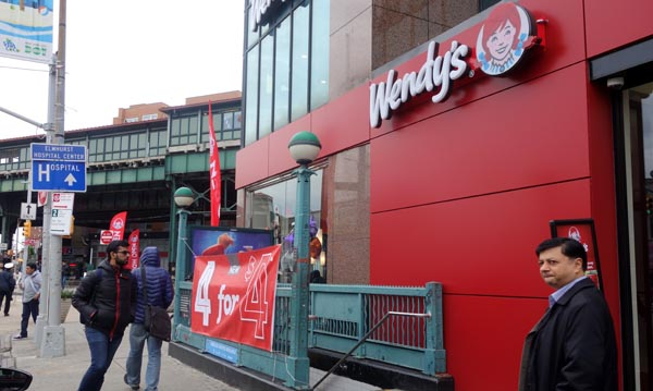 Wendy's abre restaurante en Broadway Avenue y la calle 72 de Jackson Heights