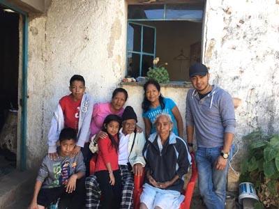Algunos soñadores visitaron por primera vez a sus familias en México.