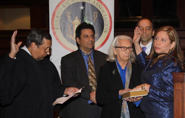 Puerto Rican Bar Association juramenta a Carmen Pacheco como su presidenta