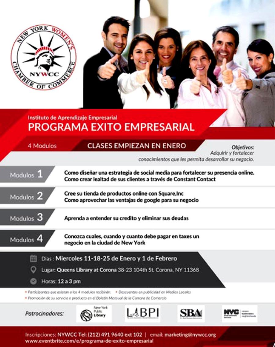 NYWCC exito empresarial