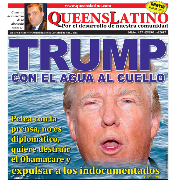 Editorial: Trump en la Casa Blanca color de hormiga