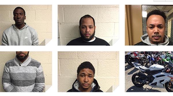 Fiscal Schneiderman acusa a 11 de robo de motocicletas que enviaban a Dominicana