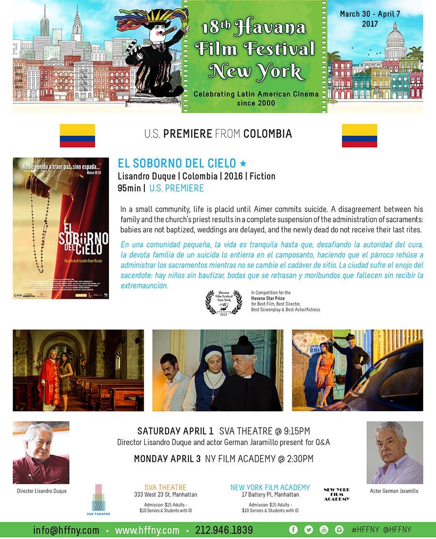 Havana Film Fest 2017 El soborno del cielo