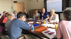 Delegación rusa visita Departamento de HIV del NYC Health + Hospital/Elmhurst
