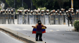 Venezuela arde