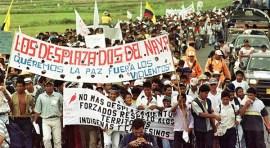 Colombia con más desplazados en el mundo más que Siria, Sudán, Irak y Congo…