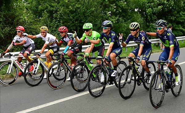 Ciclistas colombianos triunfan en el Tour de France (Rigoberto Durán en segundo puesto)