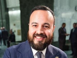 Asambleísta Francisco Moya y candidato al Concejo de Nueva York. Foto cortesía