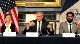 Alcalde Bill de Blasio: 'Estoy preocupado por las acciones del presidente Trump'