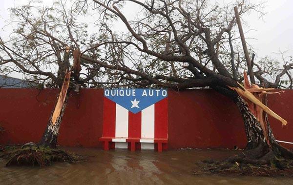 Huracán María azota a Puerto Rico (paso a paso)