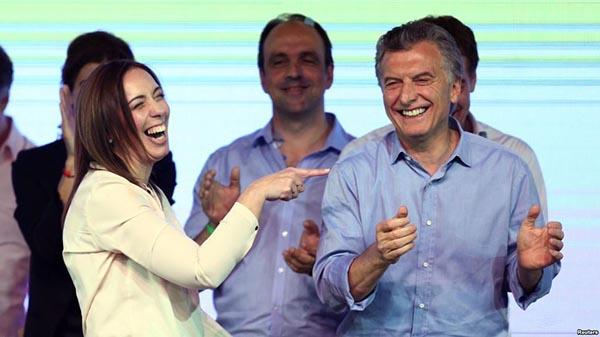 Presidente Macri triunfa en Argentina