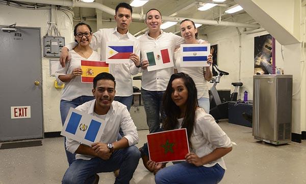 Hispanic Heritage Month aboard Nimitz