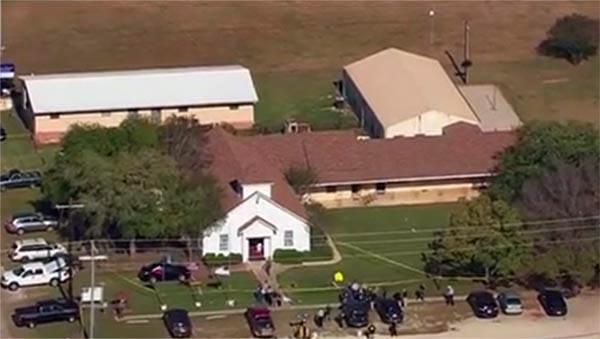 Tiroteo en iglesia de Texas deja 26 muertos