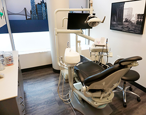Los cuartos con los mejores equipos para el tratamiento dental.