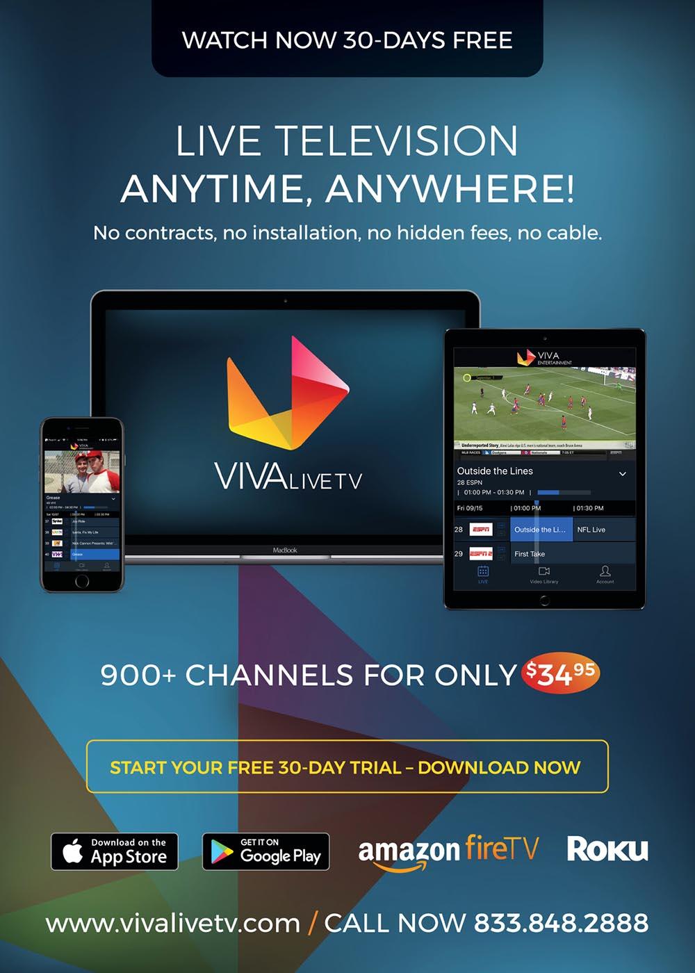 VivaLiveTV promocion