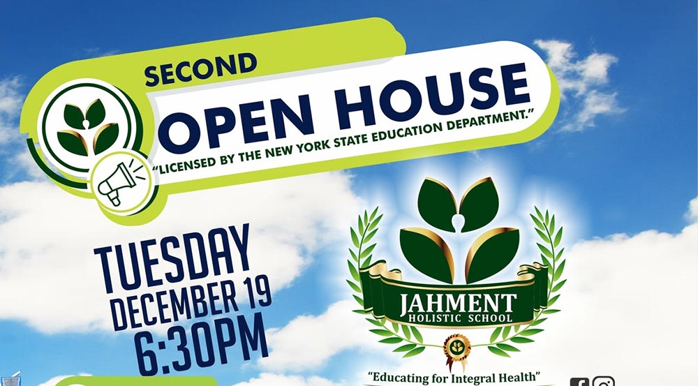 Jahment Holisti School open house
