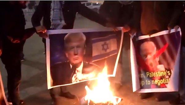 El mundo arde por Trump