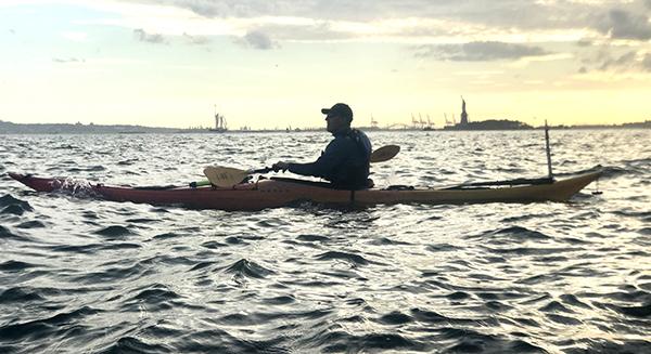 Practique kayak en NY