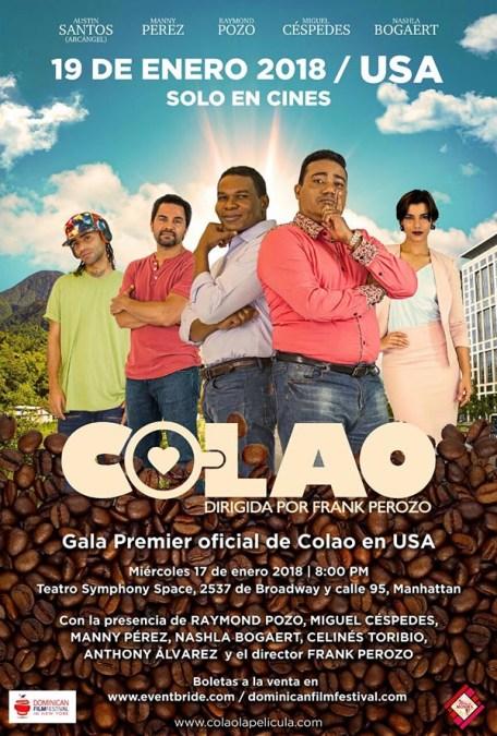 'Coloa' es la película dominicana que se estrena en Nueva York este enero