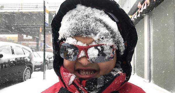 Nueva York congelado