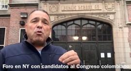 Foro de colombianos en NY en busca de su congresista