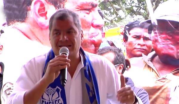 Rafael Correa no puede ser otra vez presidente de Ecuador