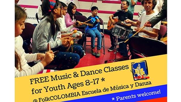 FolkCOLOMBIA School of Dance and Music With Classes