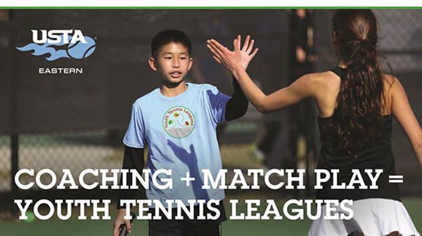 US Tennis Association With Events for Children and Adults