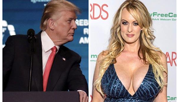Actriz porno Stormy Daniels denuncia amenazas de Trump
