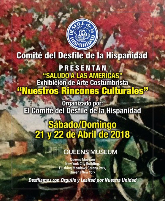 Desfile de la Hispanidad exhibe arte en Queens Museum