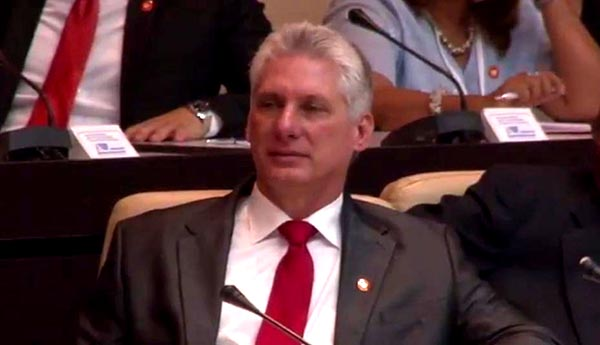 Cuba tiene nuevo presidente: Miguel Díaz-Canel
