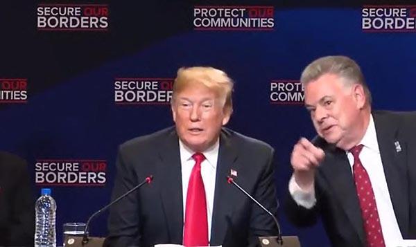 Trump insiste en llamar 'animales' a pandilleros MS-13