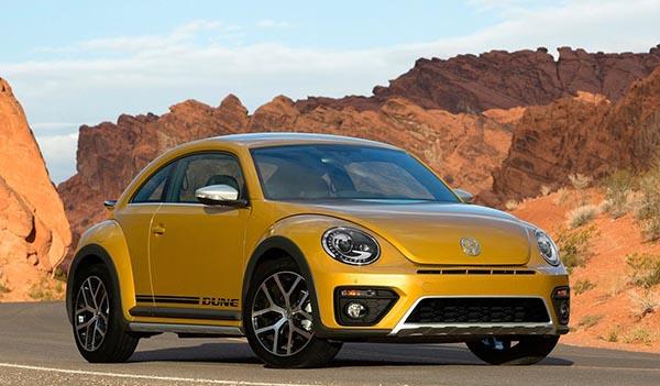 Volkswagen Beetle Dune es el más fornido