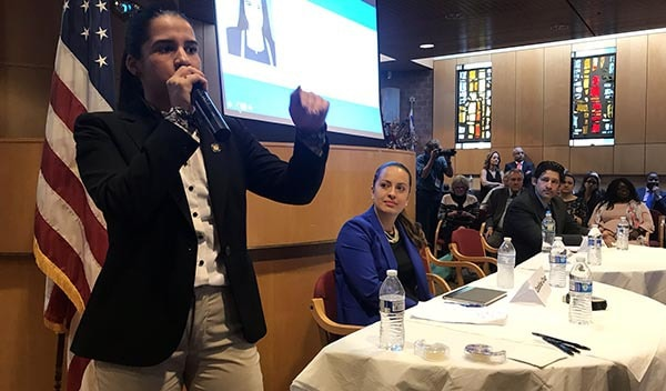 Primary Debates in Jackson Heights Get Raucous