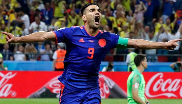 Colombia gana a Polonia 3-0 en Copa Mundo 2018